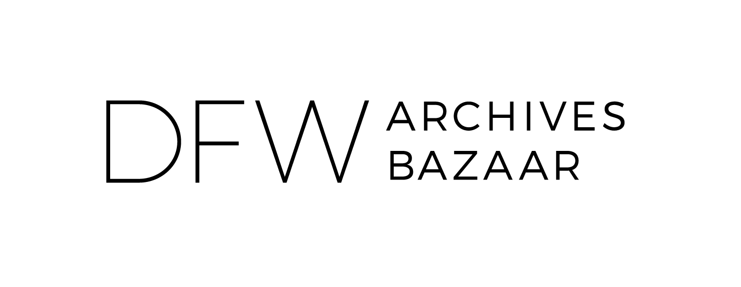 Announcing the 2019 DFW Archives Bazaar Participants!