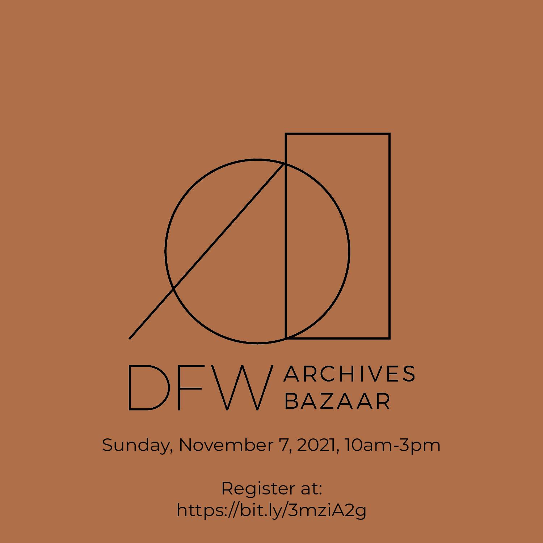 DFW Archives Bazaar Logo